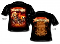 "T-Shirt ""Fear no evil"" Tour 2009"