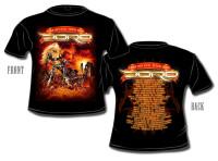 """T-Shirt """"Fear no evil"""" Tour 2009"""